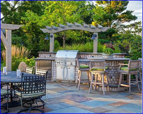 Outdoor Kitchen; Home Improvement Tips