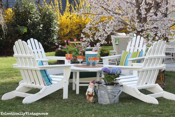 Resin Adirondack Chairs; Home Improvement Furniture Ideas
