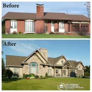 Home Improvement Tips; Exterior Remodel (Before and After)