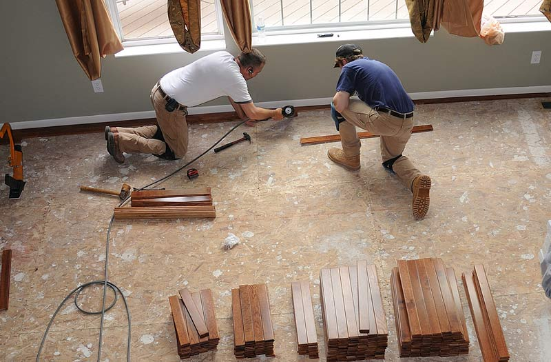Flooring; Easy Home Improvement Projects