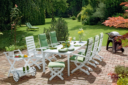 Resin Patio Furniture; Home Improvement Ideas