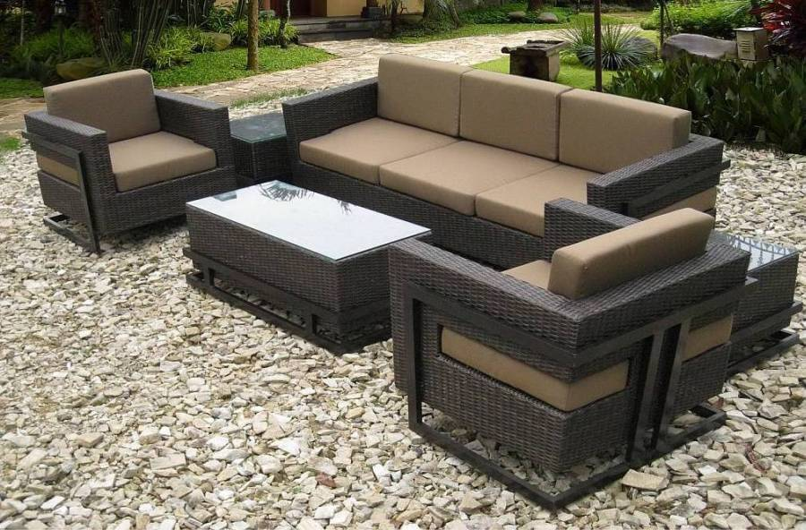 Resin Wicker Patio Furniture; Home Improvement Ideas